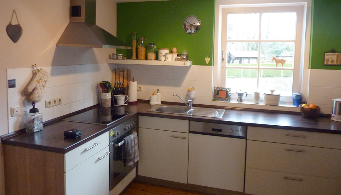 Ansicht der Küche