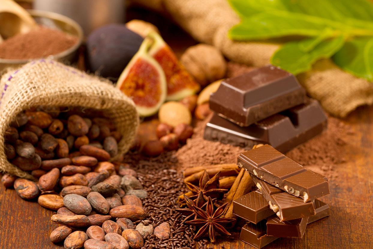 Wände wie Schokolade